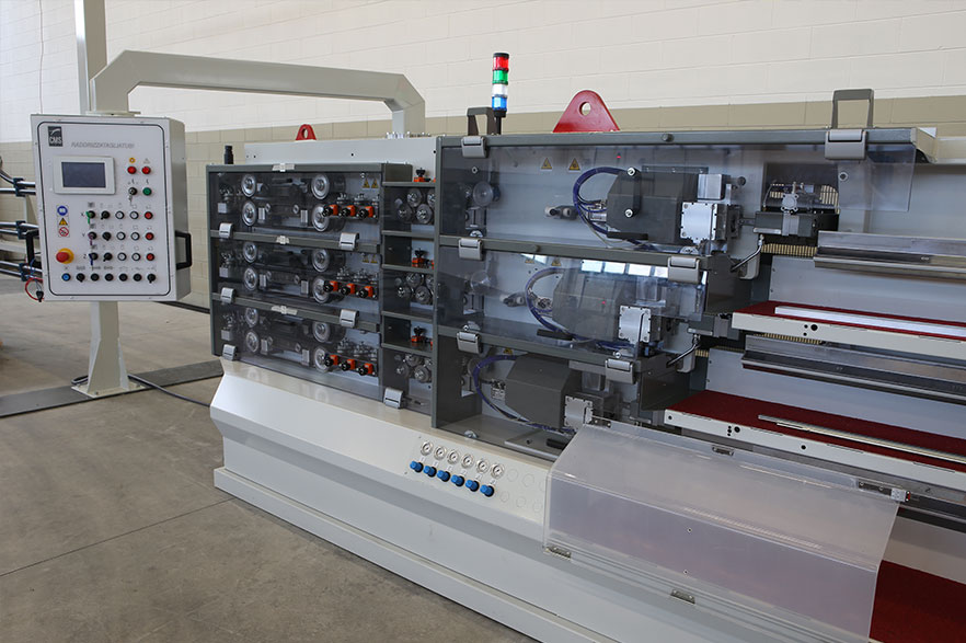 straightening-cutting machines